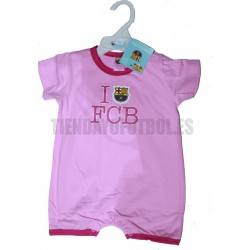 Ranita bebé Barça Rosa
