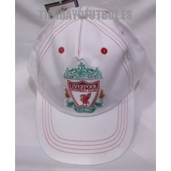 Gorra blanco Liverpool