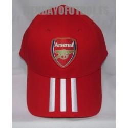 Gorra oficial Arsenal , roja Adidas