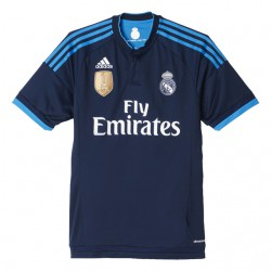 Camiseta oficial 3ª Azul 2015/16 Real Madrid CF Adidas