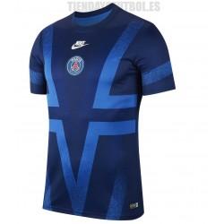 Camiseta oficial Paris Saint-Germain Jr. azul entrenamiento 2019/20 Nike