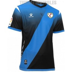 Camiseta oficial 3ª Rayo Vallecano de Madrid negra 2019/20 Kelme