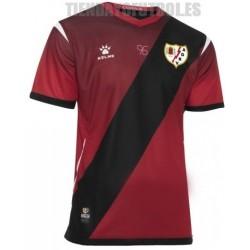 Camiseta oficial 2ª Rayo Vallecano de Madrid roja 2019/20 Kelme