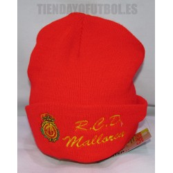 Gorro oficial Lana Mallorca rojo