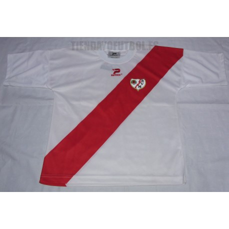 Camiseta oficial Jr. 1ª Rayo Vallecano de Madrid 2019/20 Kelme