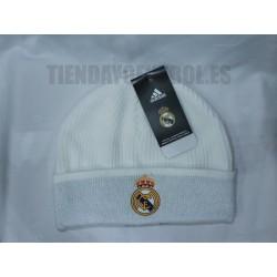 Gorro Lana Blanco Real Madrid CF Adidas