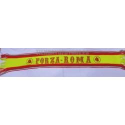 Bufanda retro serigrafiada Forza Roma