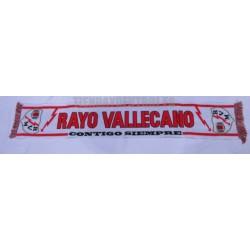 Bufanda Rayo Vallecano Clásica CONTIGO SIEMPRE
