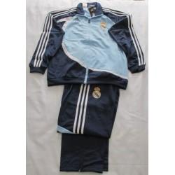 Chandal Niño Real Madrid CF Azul Adidas