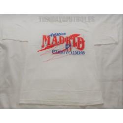 Camiseta blanca Atlético de Madrid algodón