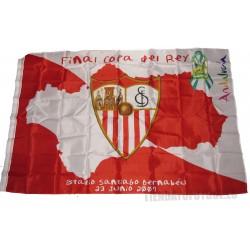 Bandera Oficial del Sevilla COPA DEL REY