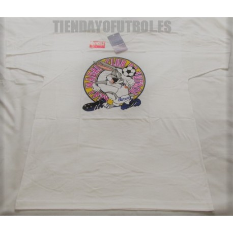 Camiseta blanca Real Madrid algodón