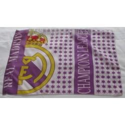 Bandera Oficial Peq. Real Madrid champions league retro