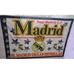 Bandera Real Madrid CF Estrellas azules