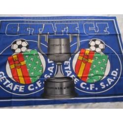 Bandera Getafe Club de Fútbol copa Rey