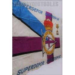 Bandera oficial Grande R.C.Deportivo de la Coruña copa