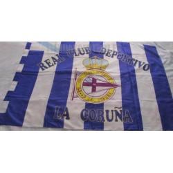 Bandera R.C.Deportivo de la Coruña grande