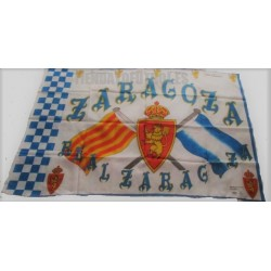Bandera oficial Real Zaragoza retro