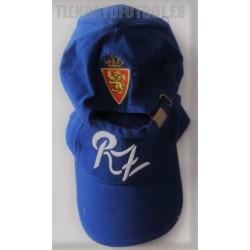 Gorra oficial Real Zaragoza azul