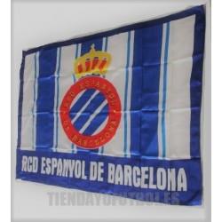 Bandera oficial Grande R.C.Deportivo Espanyol de Barcelona