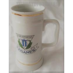 Jarra lujo CD Leganes de cerámica