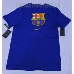 Camiseta oficial Jr. FC Barcelona algodón royal Nike