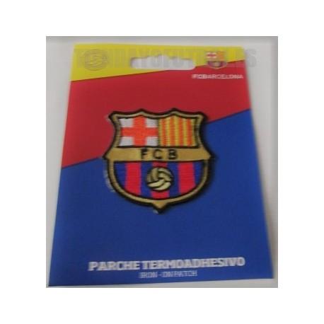 Parche termoadhesivo oficial del F.C.Barcelona pequeño