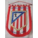 Banderín oficial grande del Atlético de Madrid Rojo Blanco