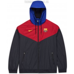 Sudadera-cortavientos oficial FC Barcelona 2020/21 Nike