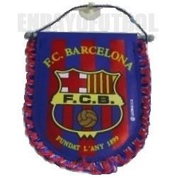 Banderín oficial pequeño Azul -grana FC Barcelona