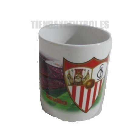 Taza Mug oficial Sevilla FC con el campo