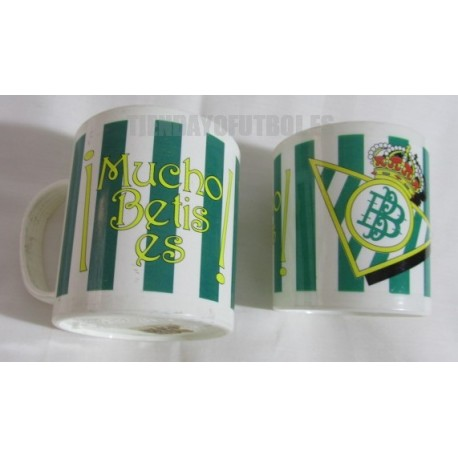 Taza plástico Real Betis