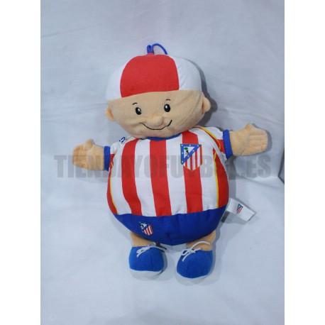 Peluche muñeco balon Atletico de Madrid