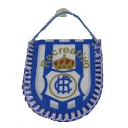Banderín pequeño para coche Recreativo de Huelva