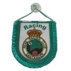 Banderín pequeño para coche Real Racing Club Santander