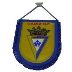 Banderín pequeño para coche Cadiz C.F.