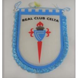 Banderín pequeño para coche Real Club Celta