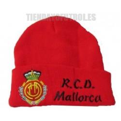 Gorro oficial Lana Real Club Deportivo Mallorca rojo