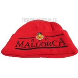 Gorro oficial Lana R.C.D. Mallorca rojo