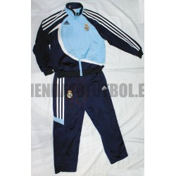 Chandal Niño Real Madrid CF Azul Adidas