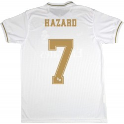 Camiseta 1º Jr.oficial HAZARD 2019/20 Real Madrid CF RM
