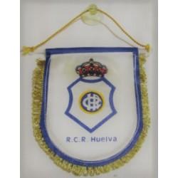 Banderín pequeño retro para coche Recreativo de Huelva