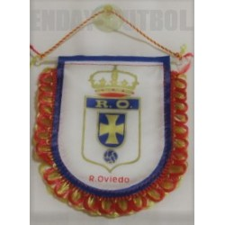 Banderín pequeño retro para coche Real Oviedo