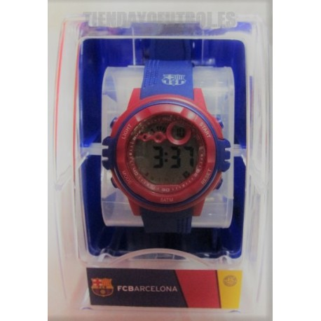 Reloj pulsera oficial FC Barcelona Junior digital