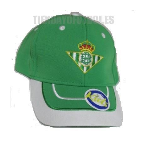 Gorra oficial Real Betis Jr.