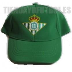 Gorra oficial Real Betis Jr. verde