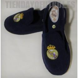 Zapatillas casa Jr. oficiales azul Real Madrid CF