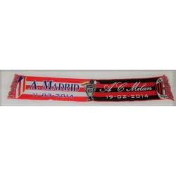 Bufanda Atlético de Madrid- A C Milan