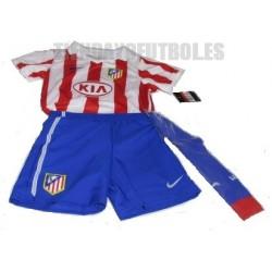 Mini Kit oficial 1 ª Atlético de Madrid Nike