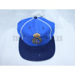 Gorra azul real madrid
